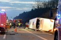 Polish bus overturns in Germany