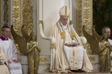 Pope Francis celebrates Second Vespers on St.Paul Outside the Walls