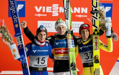 Ski Flying World Cup in Vikersund