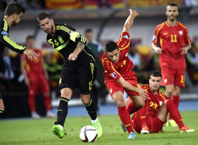 FYR of Macedonia vs Spain