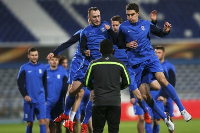 Lech Poznan training
