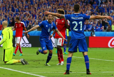 Group F Iceland vs Austria