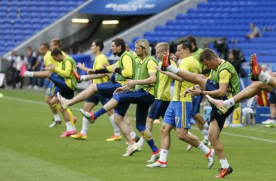 Ukraine training