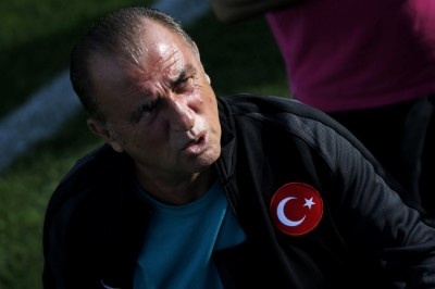 Turkey training session
