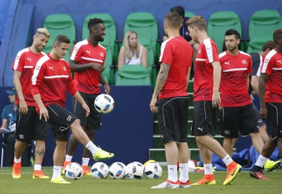 Switzerland training