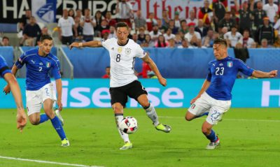 Quarter final Germany vs Italy