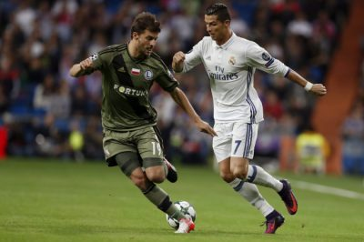 REAL MADRID VS. LEGIA WARSAW