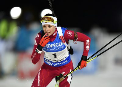 Women's 15 km individual competition